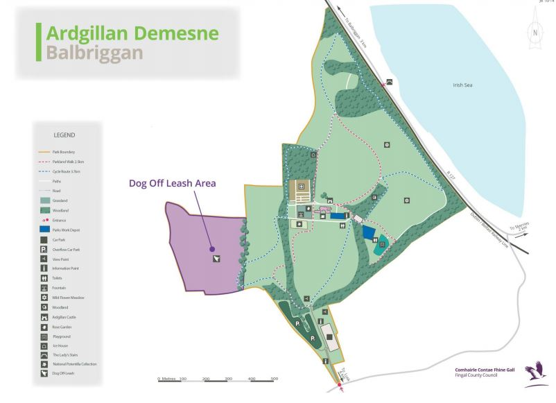 Ardgillan Demense Dog Park Fingal County Council
