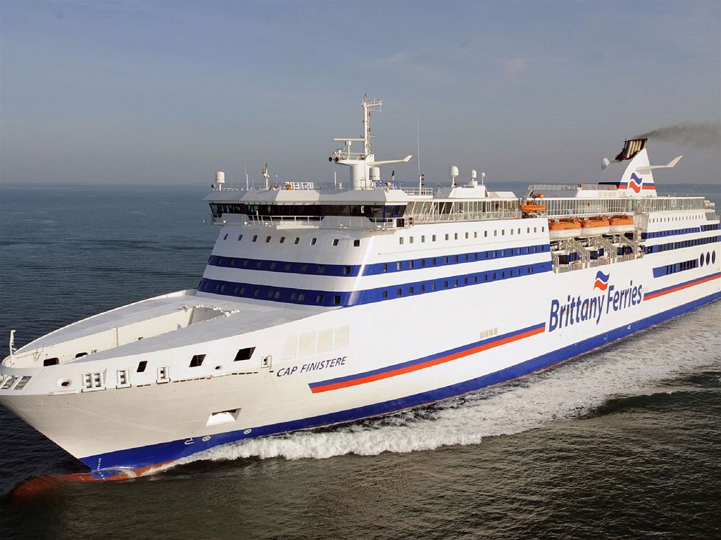 Brittany Ferries pet friendly ferry Cap Finistere