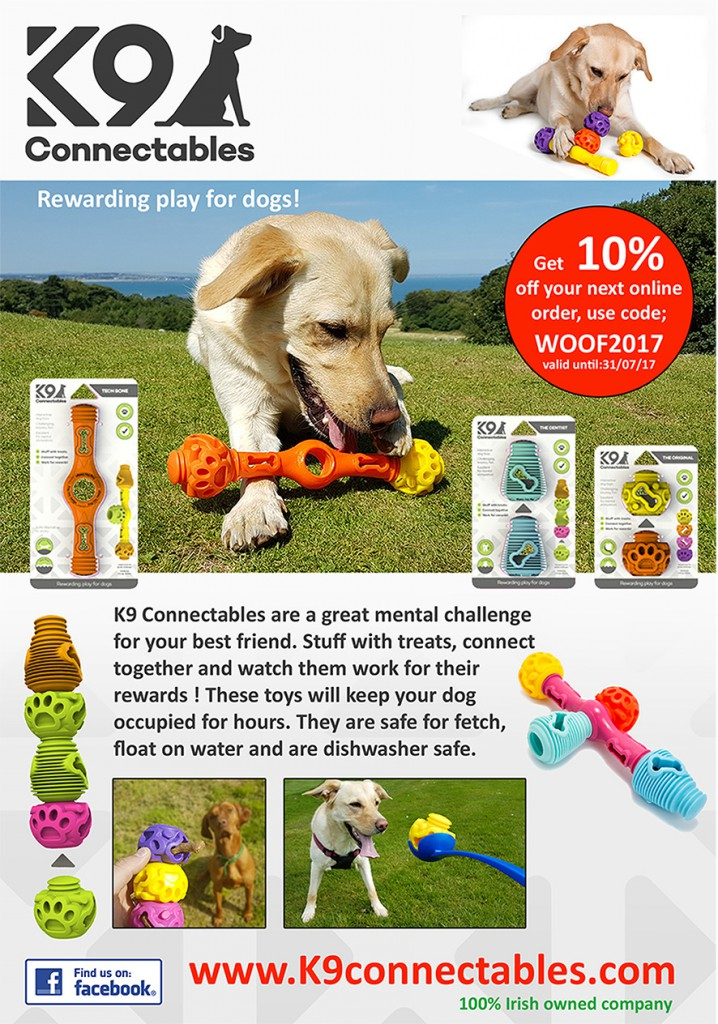 K9 Connectables 3D-printed Interactive Dog Toys