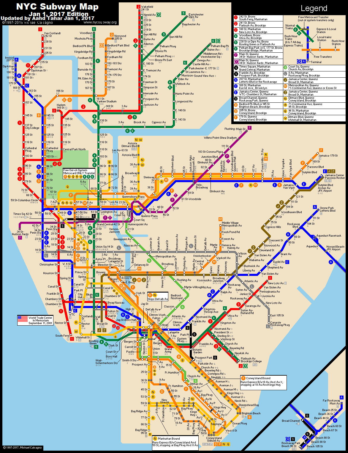 NY Subway Map