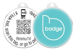 Pet Widget Trackable Collar Tag
