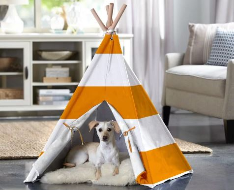 tepee dog bed