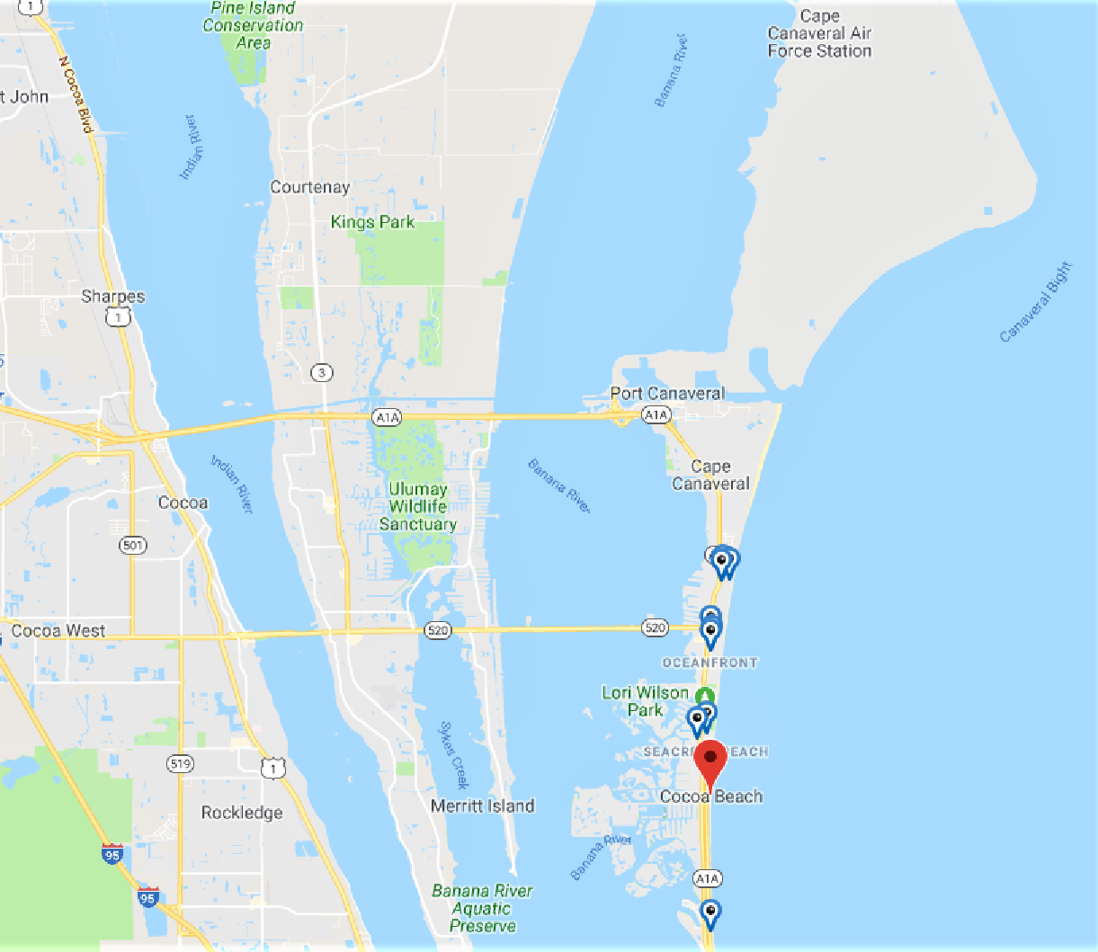 Dog Friendly Hotels Cocoa Beach Florida