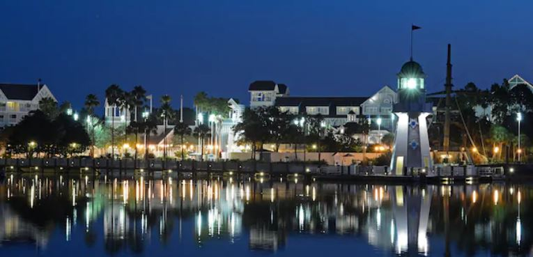 Disney's Yacht Club Resort Hotel Orlando Florida