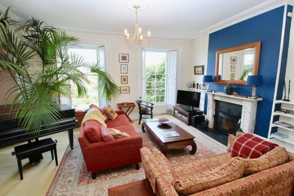 Regency river house, Falmouth, Cornwall