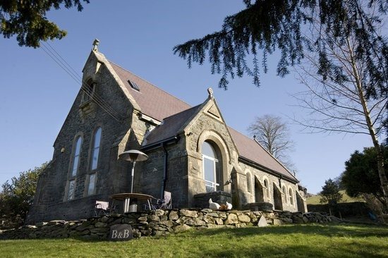 St Curig's Church, Betws-y-Coed, North Wales