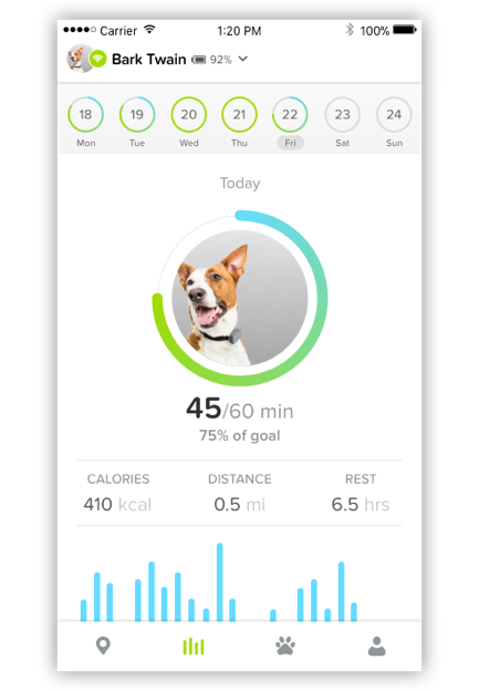 Whistle 3 Activity App