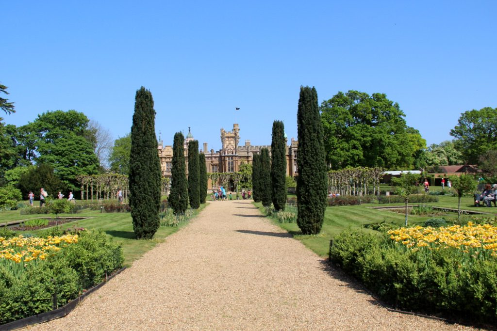 Knebworth House, Park, Gardens Adventure Playground & Dinosaur Trail Hertfordshire