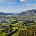 Keswick Lake District Cumbria North West England