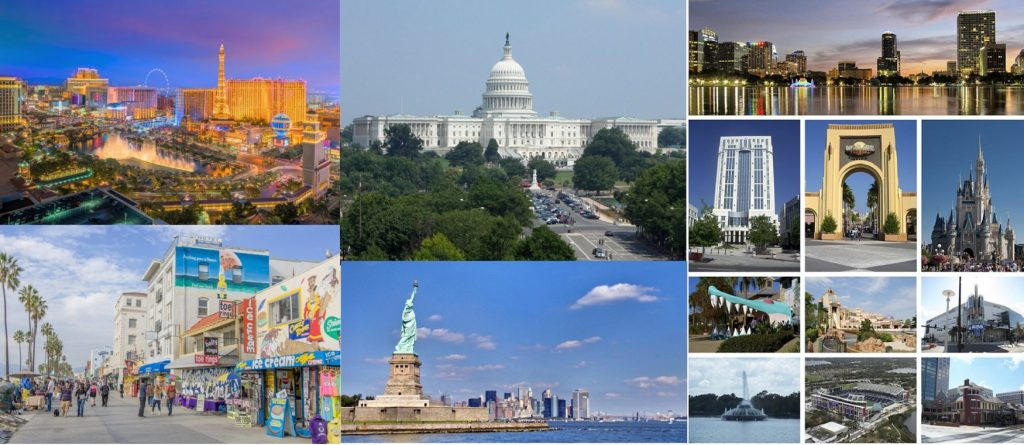 USA City Destinations
