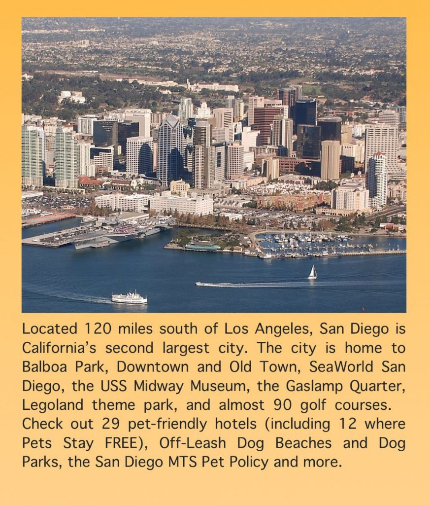 Family & Pet Friendly Visitor Guide to San Diego California