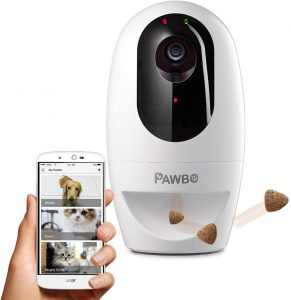 Pawbo Life Pet Camera:, Treat Dispenser and Laser Game