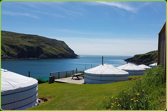 Chléire Haven - Camping on Cape Clear Island West Cork