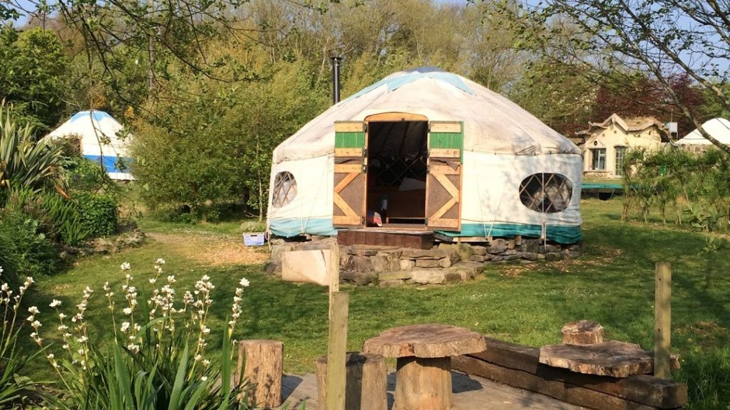 Inch Hideaway Eco Sustainable Campsite East Cork